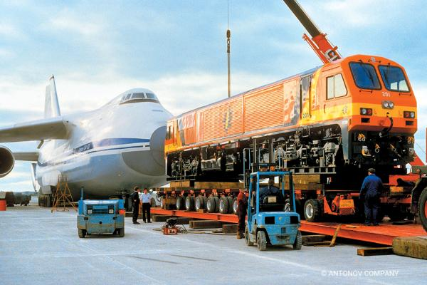 Antonov Airlines set another Guinness World Record for transporting the heaviest cargo (plus equipment) of 146 tons.